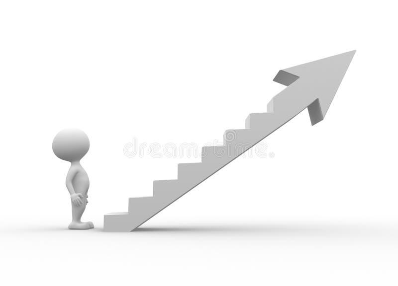 De ladder vector illustratie