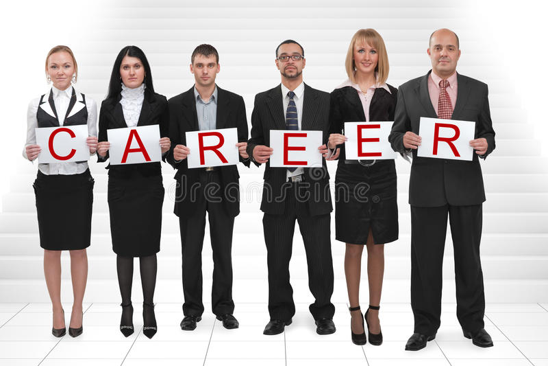 De ladder van de carrière