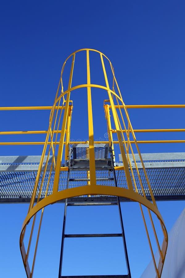 De Ladder van machines stock foto