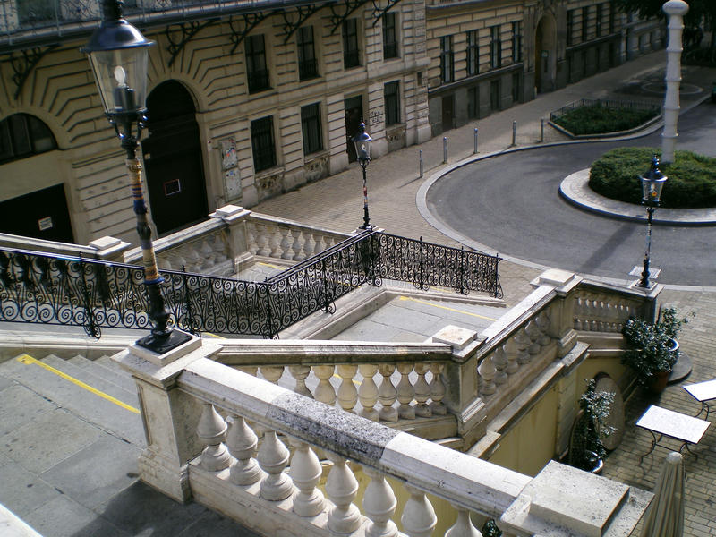 De ladder van Wenen royalty-vrije stock afbeelding