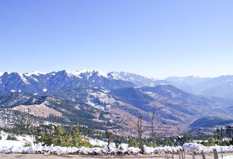 De Lagere Himalayan-Waaier van Patnitop royalty-vrije stock foto