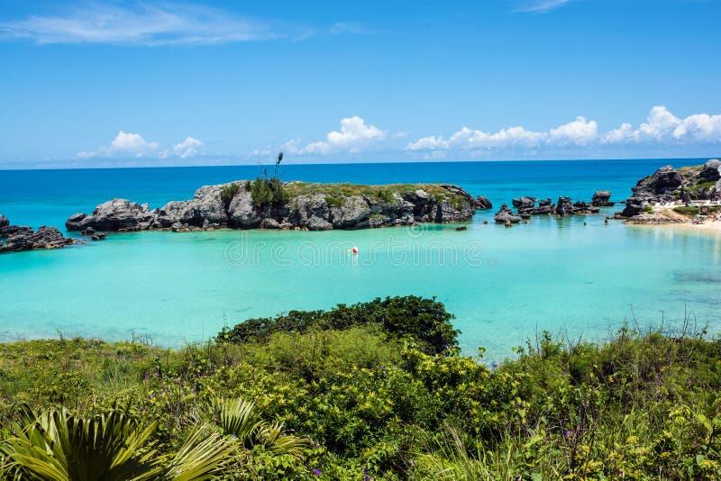 De Lagune van de Bermudas stock foto