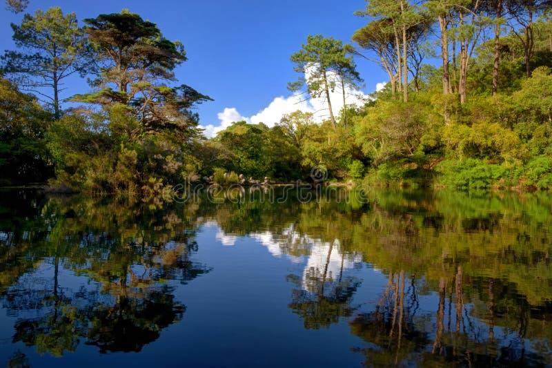 De lagune van Monserrate royalty-vrije stock fotografie
