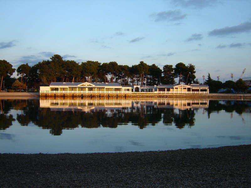 De lagune van Umag royalty-vrije stock foto's
