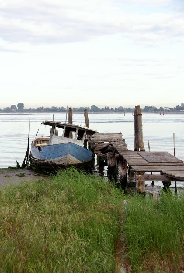 De lagune van Venetië in Italië royalty-vrije stock foto's