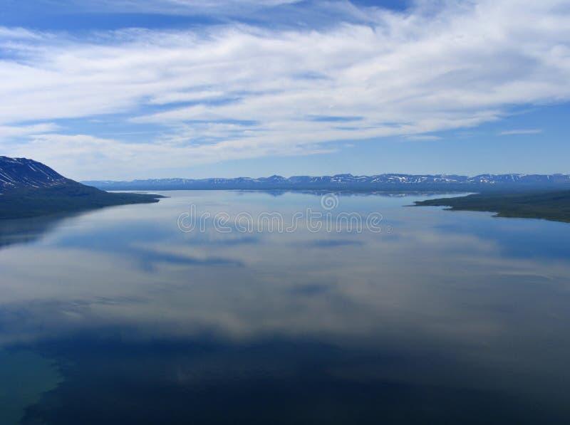 De Lama van het meer. royalty-vrije stock foto's