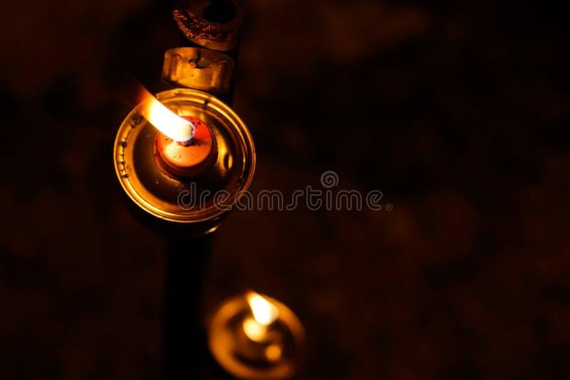 De Lamp van de Aildilfitriolie stock foto