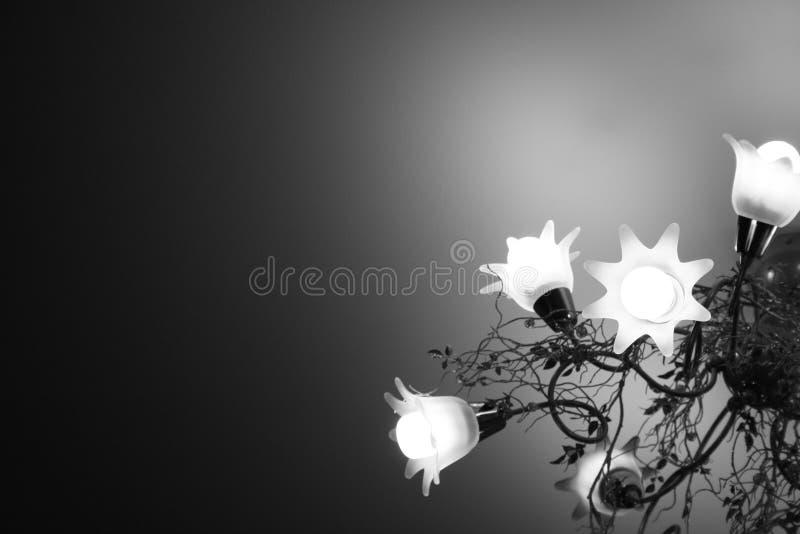 De Lamp van de bloem royalty-vrije stock afbeelding
