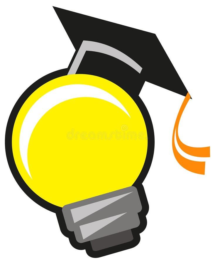 De lamp van de bol met GLB vector illustratie