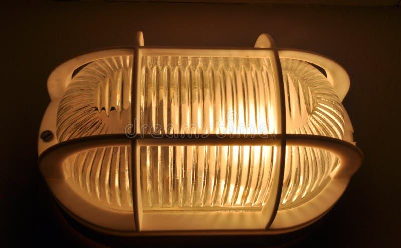 De lamp van de kelder royalty-vrije stock afbeeldingen