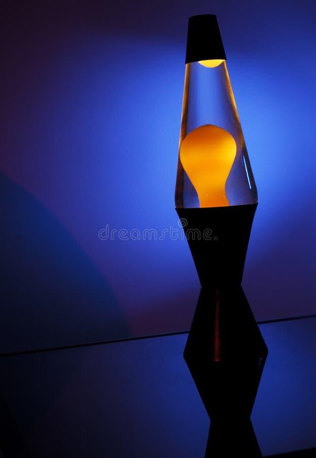 De lamp van de lava royalty-vrije stock afbeeldingen