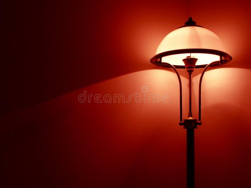De lamp van de slaapkamer royalty-vrije stock afbeeldingen