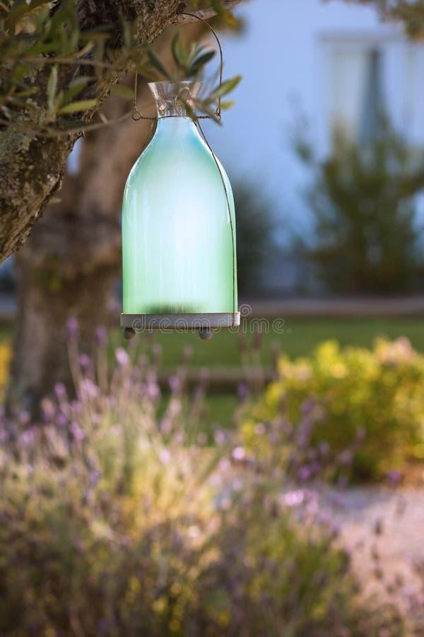 De lamp van de tuin royalty-vrije stock foto