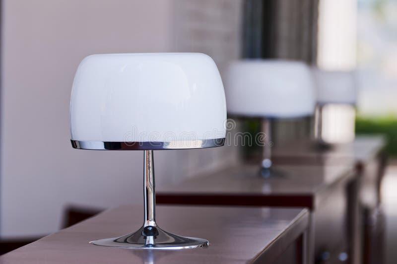 De lamp van het bureau stock afbeeldingen