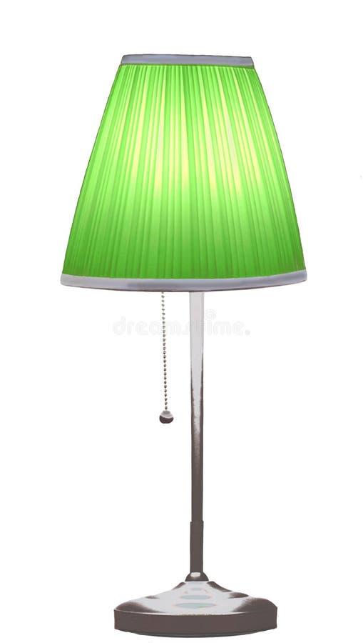 De lamp van het bureau stock fotografie