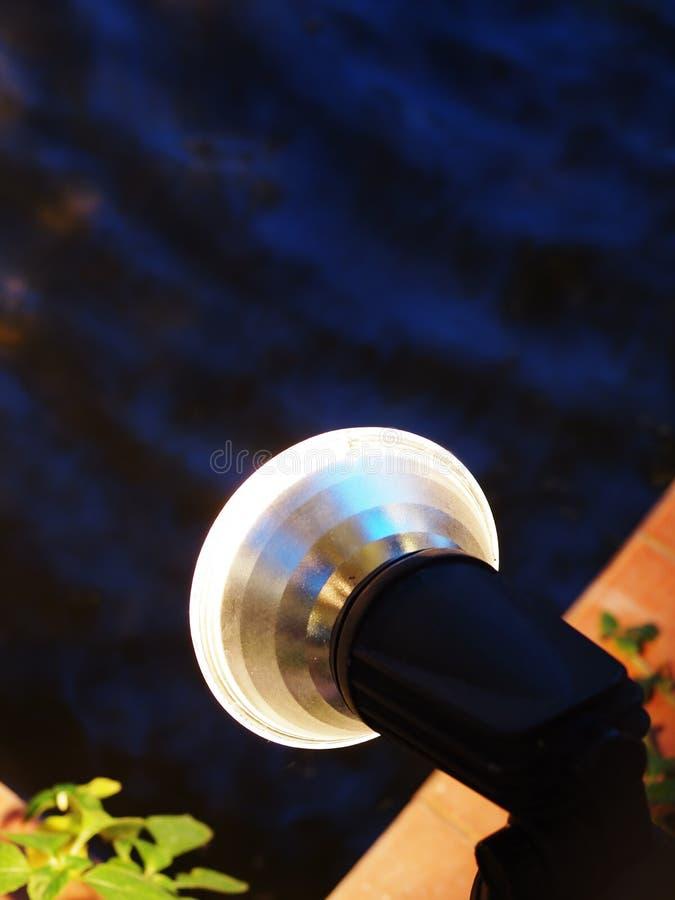 De lamp van het halogeen royalty-vrije stock afbeeldingen