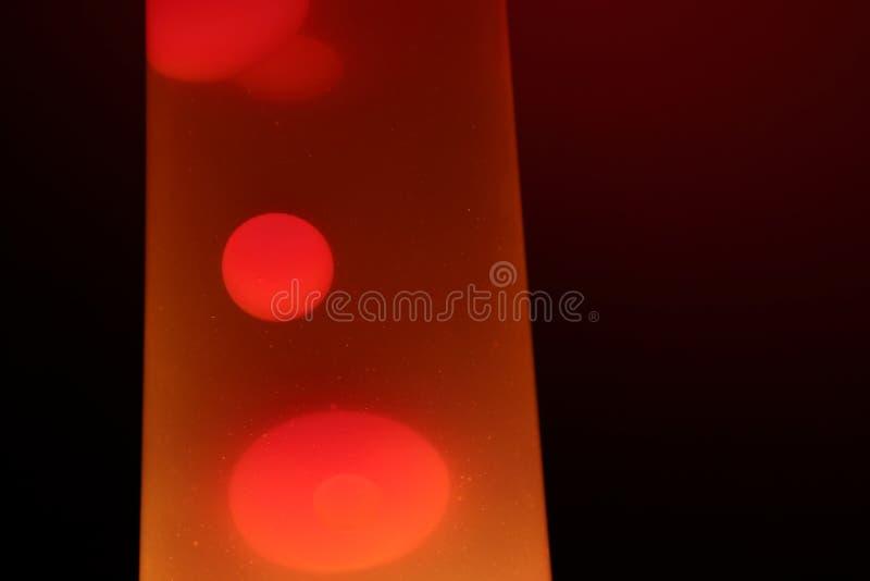 De lamp van de lava Samenvatting ge?soleerde samenstelling stock foto's