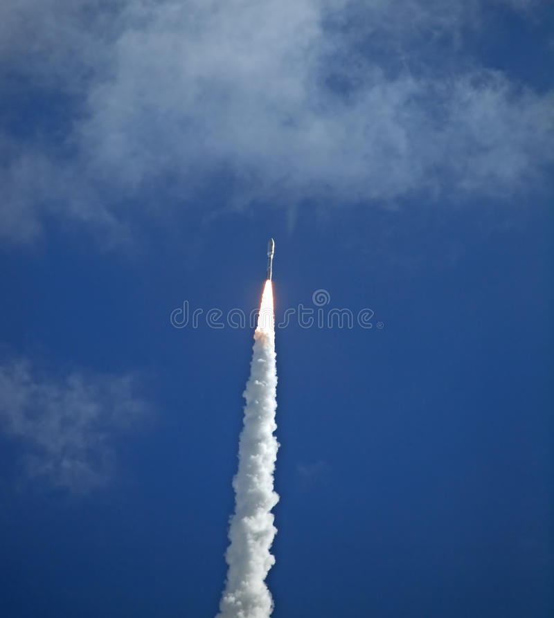 De Lancering van de Zwerver van Mars stock foto's
