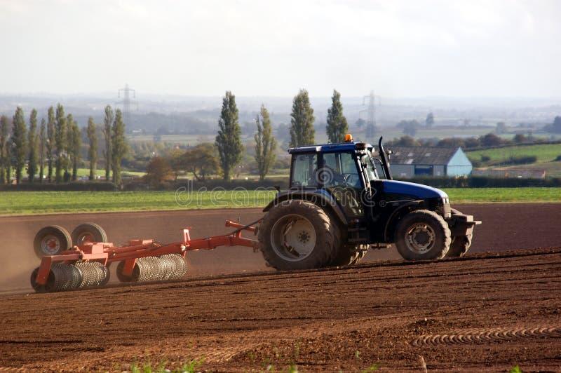 De Landbouw van de tractor stock fotografie