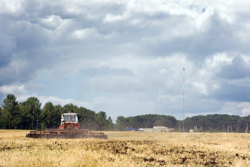 De landbouwwerken royalty-vrije stock fotografie