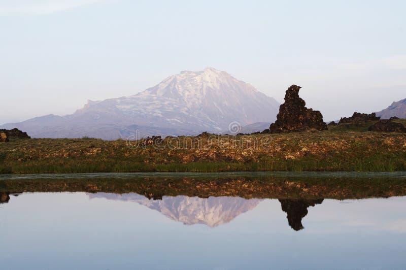De landschappen van Kamchatkian royalty-vrije stock foto