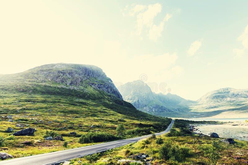De landschappen van Noorwegen royalty-vrije stock foto's