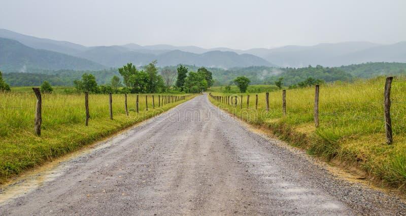 De Landweg van de Cadesinham stock foto's
