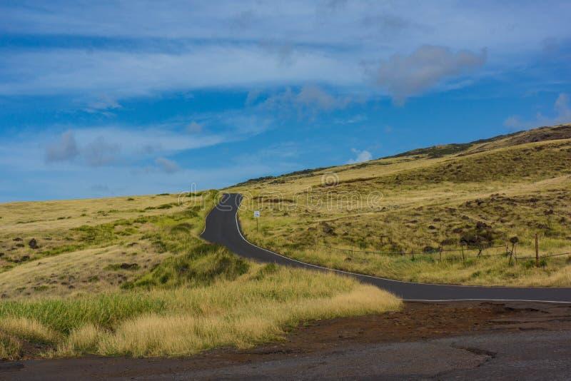 De landweg van Hawaï Maui aan Hana royalty-vrije stock fotografie