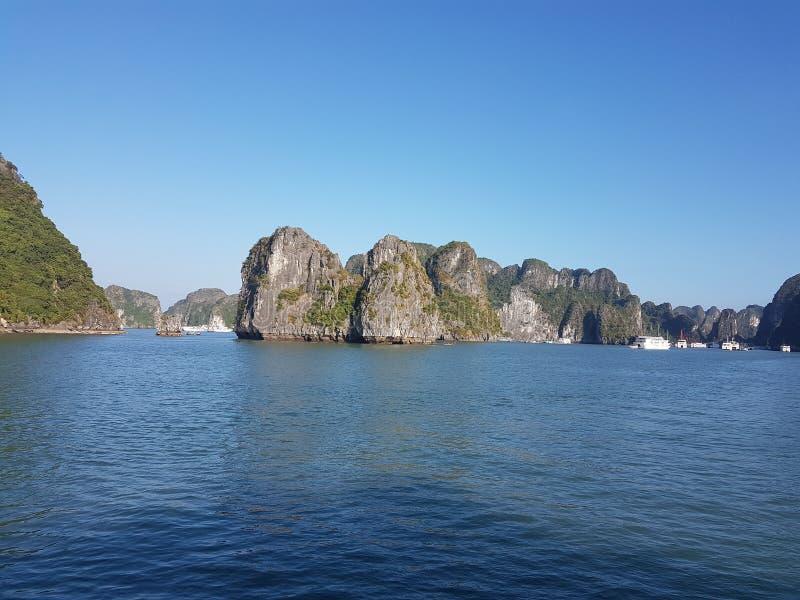 De Lange Baai van Ha royalty-vrije stock afbeeldingen