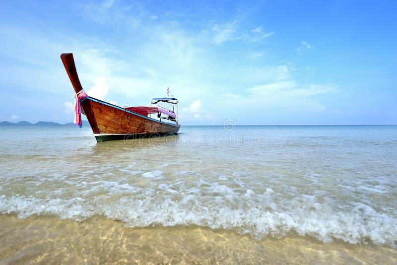 De lange Boot van de Staart stock fotografie