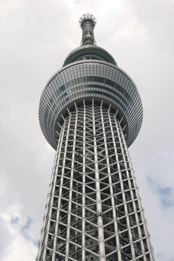 De lange bouw in Tokyo royalty-vrije stock fotografie