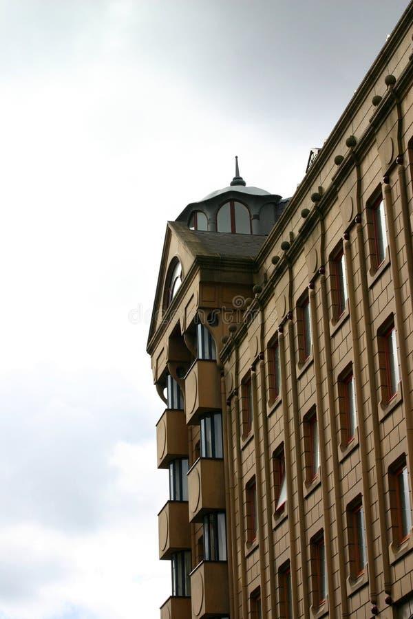 Download De Lange Bouw Van Het Zandsteen Stock Foto - Afbeelding bestaande uit vensters, lang: 279184
