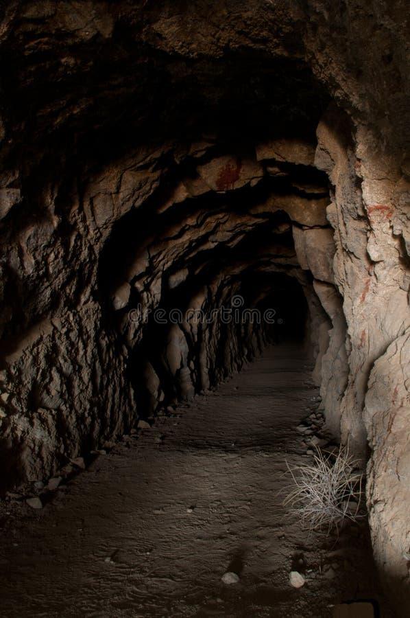 De lange Tunnel stock afbeelding