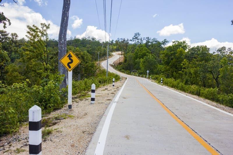 De lange weg stock foto