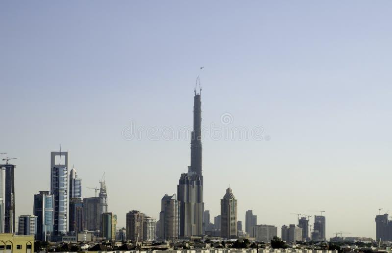 De Langste Bouw van Doubai royalty-vrije stock afbeelding