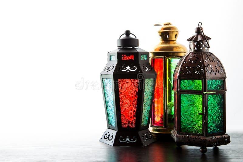 De lantaarn van de Ramadan stock foto's