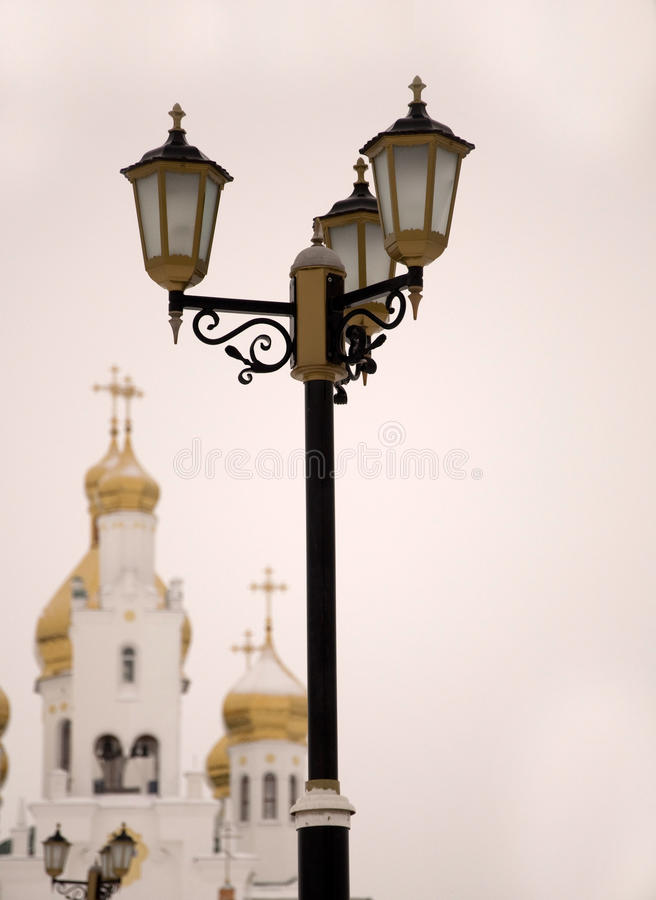 De lantaarn van de straat royalty-vrije stock foto's