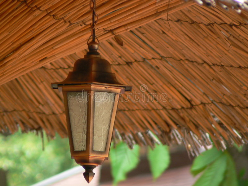De lantaarn van de tuin stock afbeelding