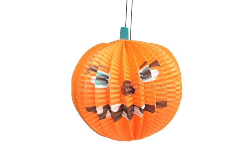 De lantaarn van Halloween punpkin stock afbeeldingen