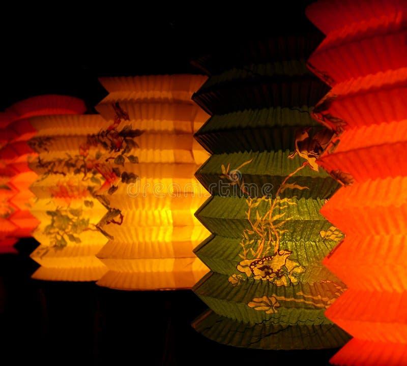 De lantaarn van het document stock foto's