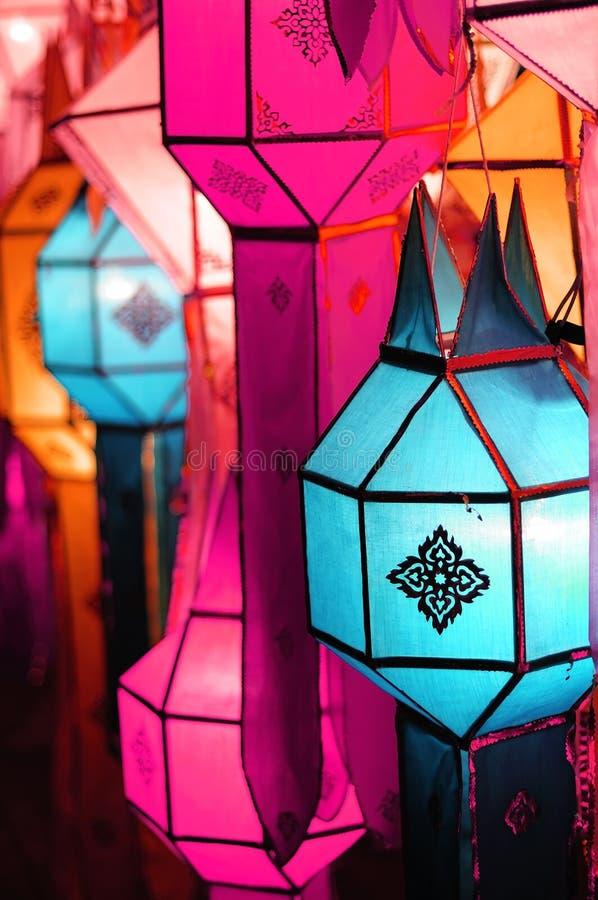 De lantaarn van Lanna royalty-vrije stock afbeeldingen