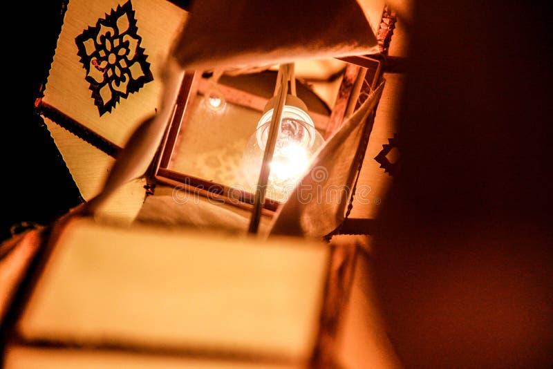 De lantaarn van Lanna royalty-vrije stock afbeelding