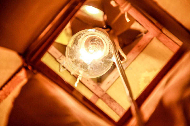 De lantaarn van Lanna stock fotografie