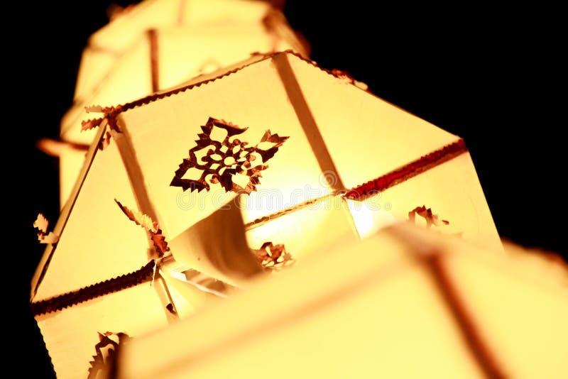 De lantaarn van Lanna royalty-vrije stock fotografie