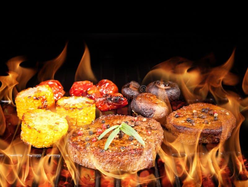 De lapjes vlees van het rundvlees stock afbeelding
