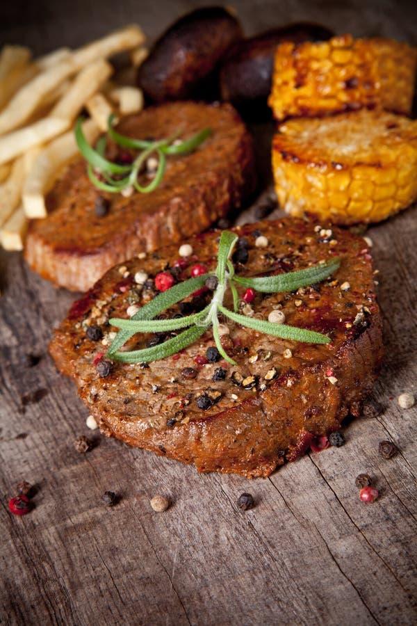 De lapjes vlees van het rundvlees royalty-vrije stock foto's