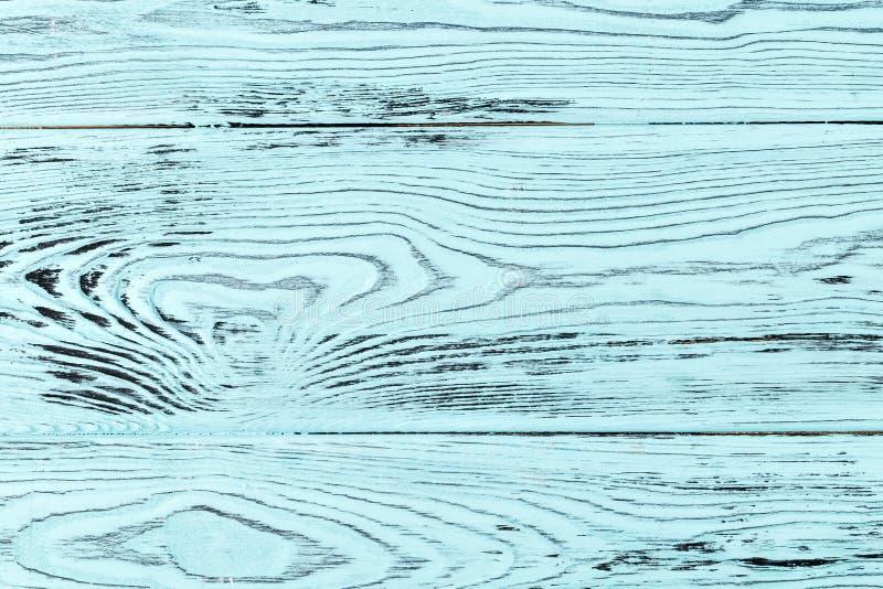 De larikshout van de close-uptextuur cyaan of turkooise kleur stock afbeeldingen