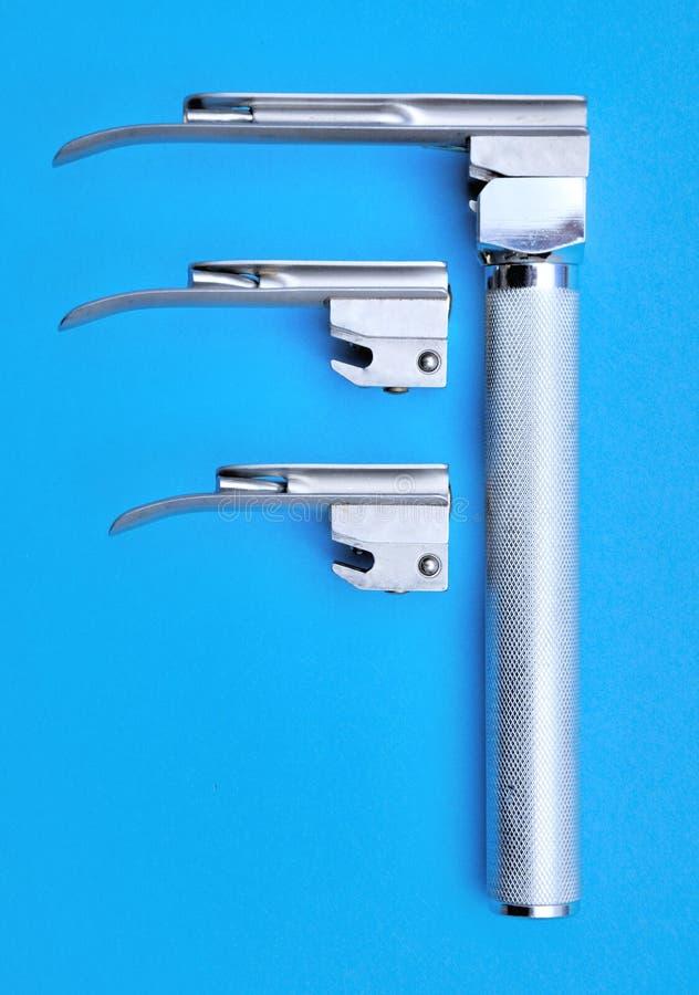 De laryngoscoop van de molenaar royalty-vrije stock afbeeldingen