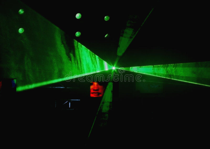 De laser toont royalty-vrije stock afbeelding