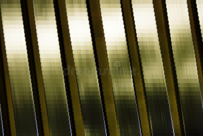 De lat van het metaalmozaïek stock foto